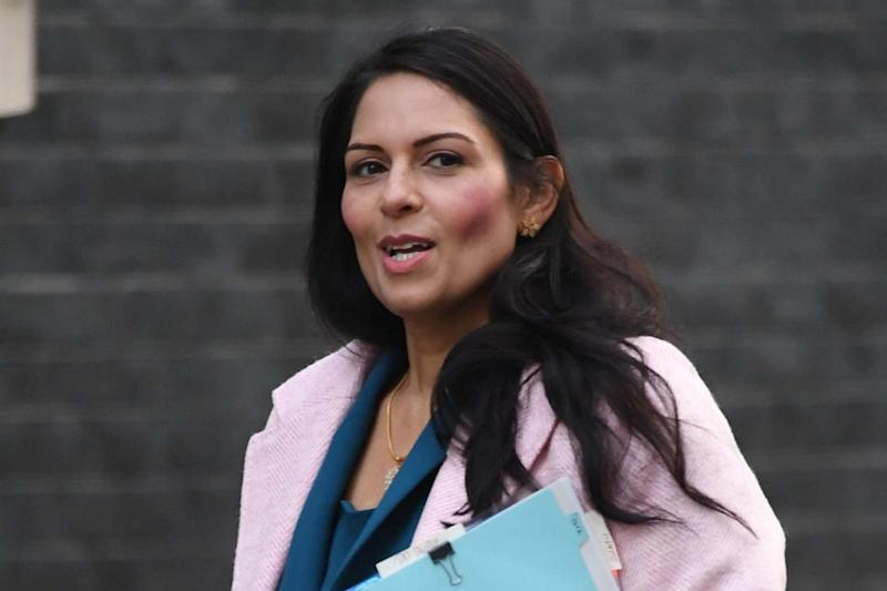 Allegations: Priti Patel is said to want an inquiry into leaks alleging that MI5 does not trust her over briefings: PA