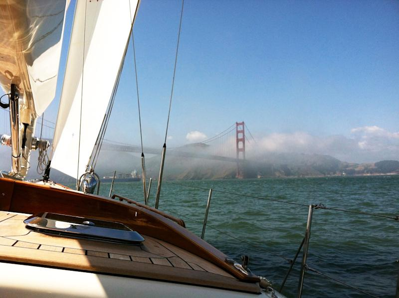 M52 yacht provides a high-tech daysail in San Francisco