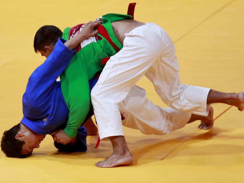 列亞運正式項目「安全的摔角比賽」