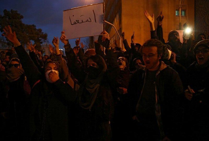 'Musuh kita ada di sini': Pengunjuk rasa Iran tuntut pemimpin mundur