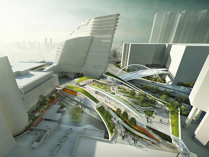香港理工大學 位居九龍要衝的學術殿堂