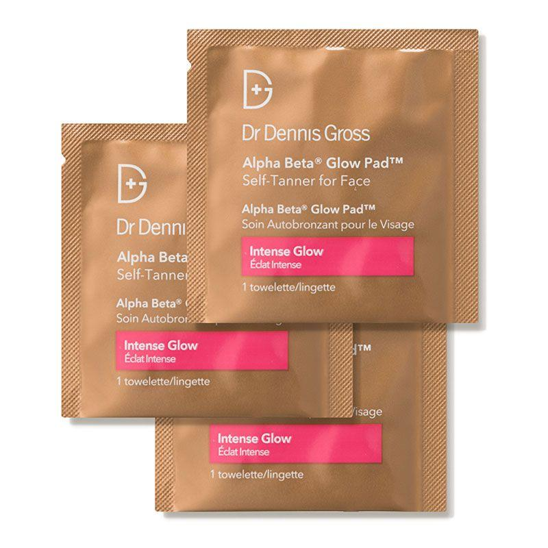 """<p><strong>Dr. Dennis Gross Skincare</strong></p><p>dermstore.com</p><p><a href=""""https://go.redirectingat.com?id=74968X1596630&url=https%3A%2F%2Fwww.dermstore.com%2Fproduct_Alpha%2BBeta%2BGlow%2BPad%2BSelf%2BTanner%2Bfor%2BFace%2B%2BIntense%2BGlow_54282.htm&sref=https%3A%2F%2Fwww.harpersbazaar.com%2Fbeauty%2Fskin-care%2Fg32603111%2Fdermstore-summer-sale%2F"""" target=""""_blank"""">Shop Now</a></p><p><del>$38</del><strong><br>$30.40</strong></p><p>Thanks to these pre-soaked, exfoliating pads, you're a few swipes away from scoring a """"fresh from the beach"""" glow. It's some of the <a href=""""//www.goodhousekeeping.com/beauty/anti-aging/tips/g127/best-self-tanners/"""" target=""""_blank"""">best self-tanner</a> you can put on your face, according to our Beauty Lab pros!</p>"""
