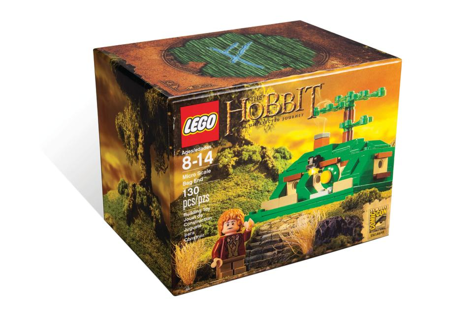 "LEGO ""The Hobbit: An Unexpected Journey"" Micro Scale Bag End San Diego Comic-Con 2013 Exclusive"