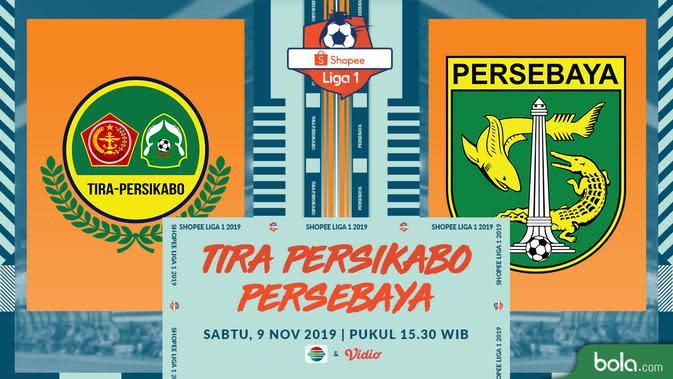 Shopee Liga 1 2019: Tira Persikabo vs Persebaya Surabaya. (Bola.com/Dody Iryawan)