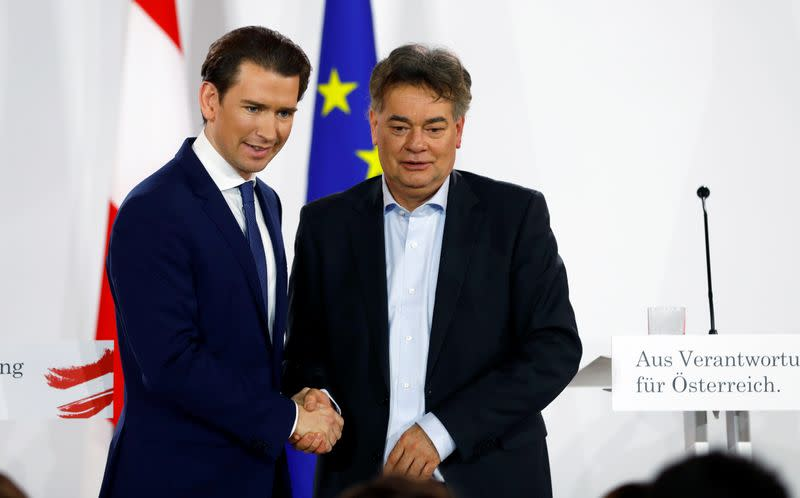 Highlights of Austrian conservative-Greens coalition deal