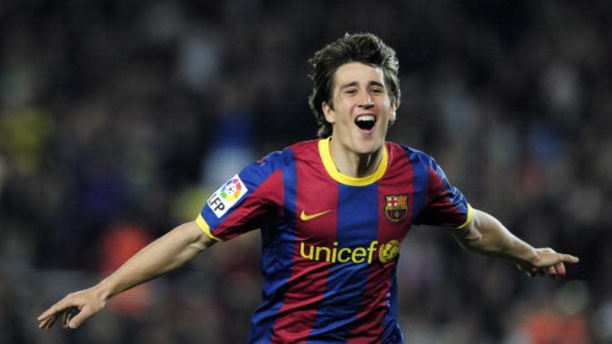 Pemain asal Spanyol, Bojan Krkic, pernah membela Barcelona pada 2007-2011, dan 2013-2014. (AFP PHOTO/Josep Lago)