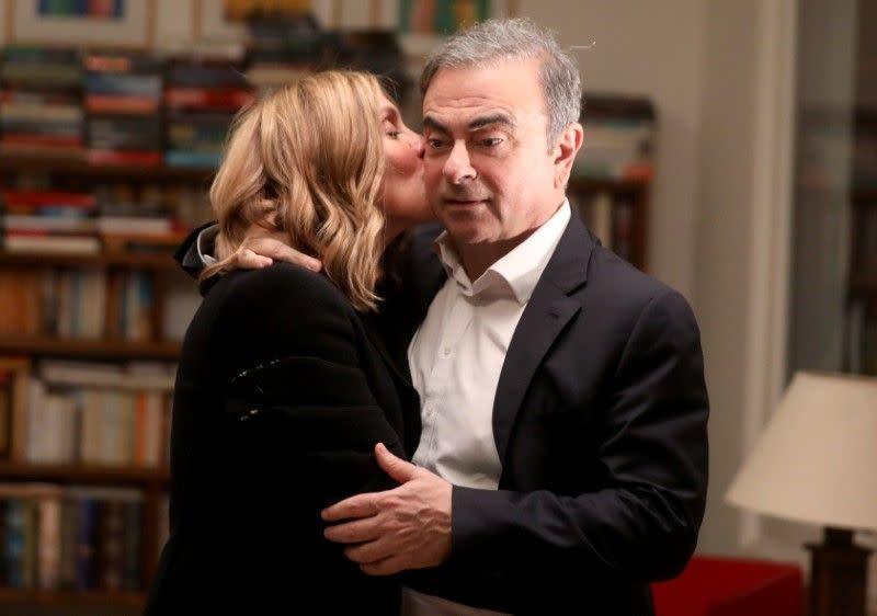 Eksklusif:  Di Beirut, istri Ghosn kecam peradilan Jepang