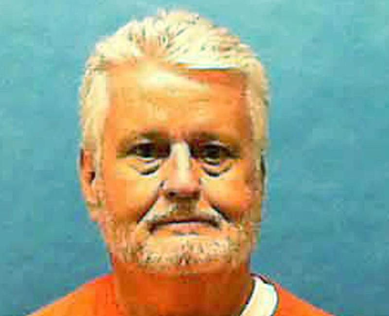 Pictured is serial killer Bobby Joe Long who murdered 10 women in Tampa, Florida in 1984. He was killed by lethal injection in Florida State Prison on Thursday.