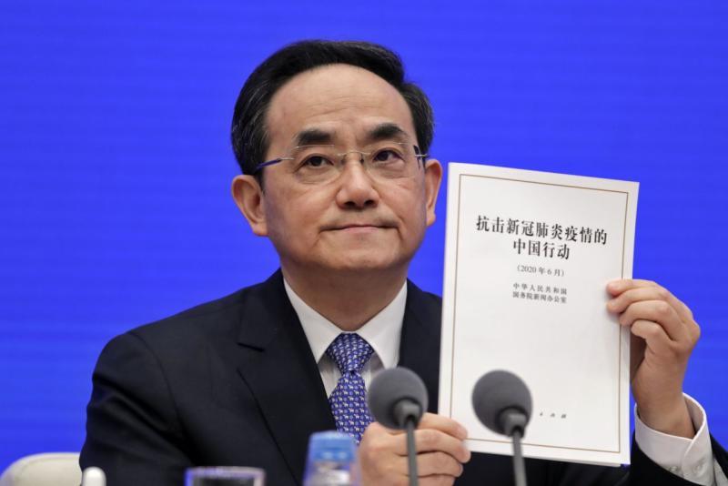 China membela tanggapannya atas virus corona dalam laporan baru
