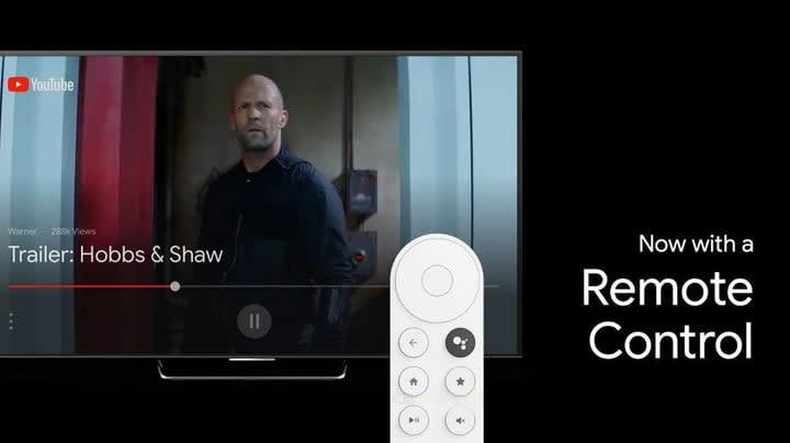 Google Chromecast 2 remote control