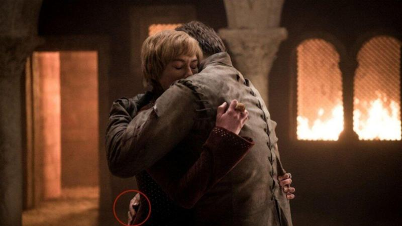 Game of Thrones has been called out for yet another editing fail, this time involving Jaime Lannister's supposedly-severed hand. Photo: HBO