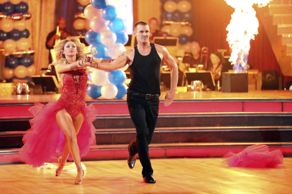 Kym Johnson and Ingo Rademacher (4/1/13)