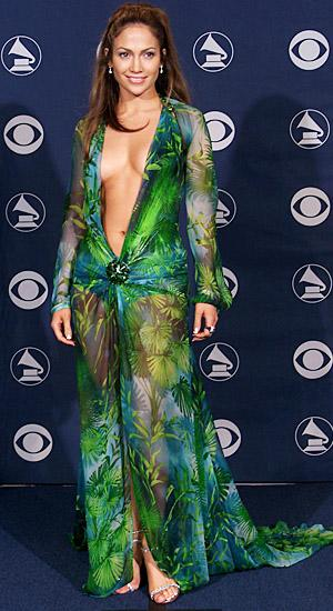 Jennifer Lopez Reveals Where She Keeps That Daring Versace Dress From the 2000 Grammys