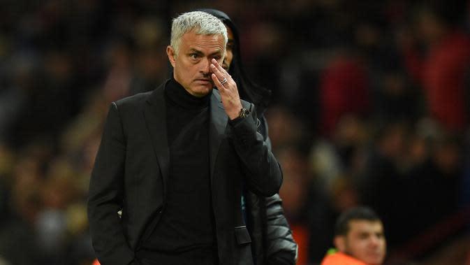 Jose Mourinho. (AFP/Oli Scarff)