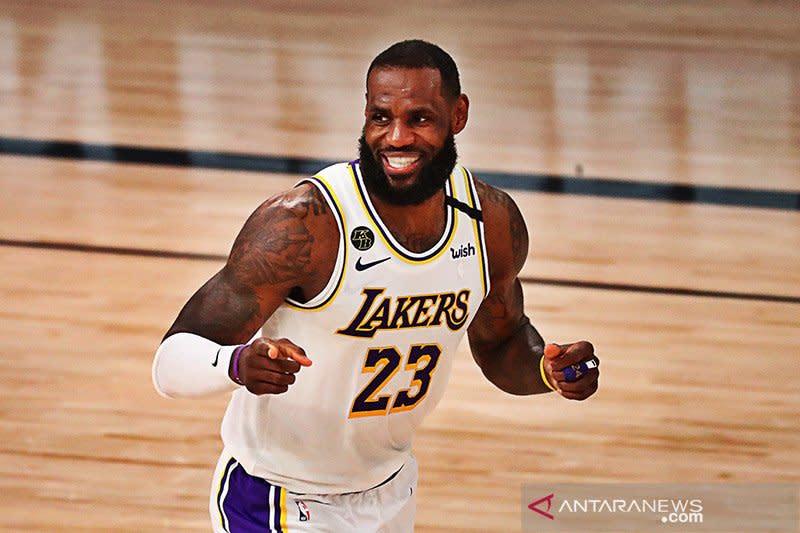 LeBron James jengkel dengan hasil voting MVP NBA