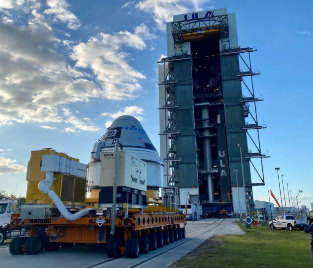 Starliner and Atlas 5 rocket