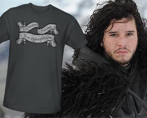 Weekly 'Game of Thrones' Giveaway: Night's Watch Signal T-Shirt