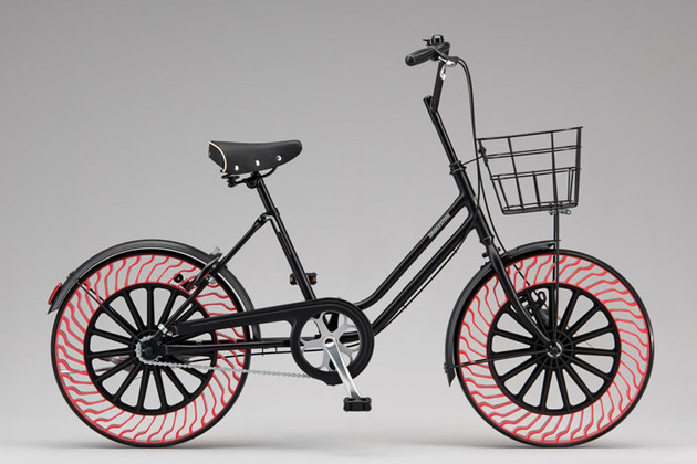 "Bridgestone發表新一代自行車無空氣輪胎""Air Free Concept"""