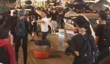 去年十月元朗警員開槍 14歲男童被控暴動