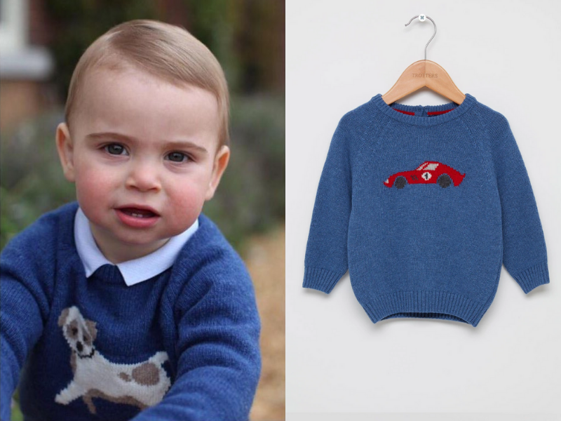 Images courtesy of Duchess of Cambridge, Trotters.
