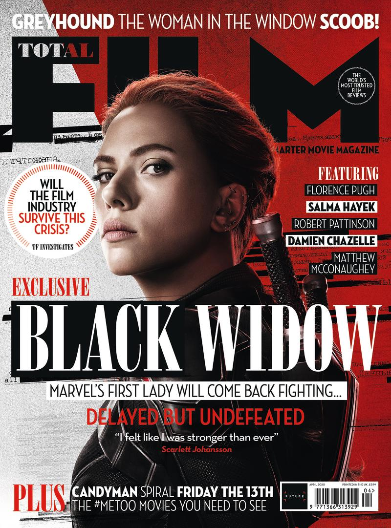 Total Film's Black Widow cover