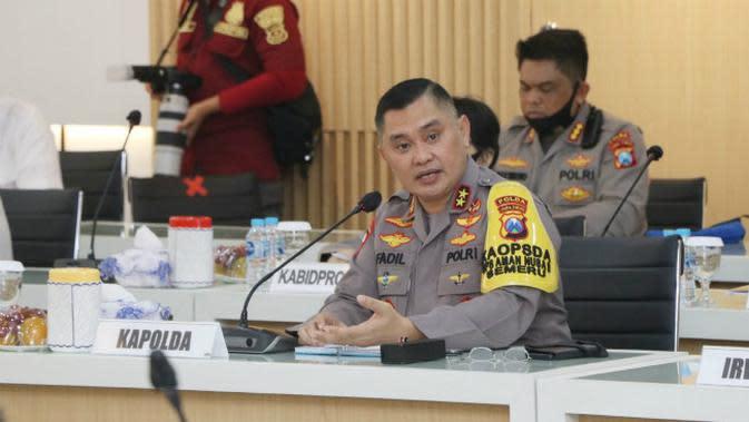 Kapolda Jatim Irjen M Fadil Imran (Foto: Liputan6.com/Dian Kurniawan)