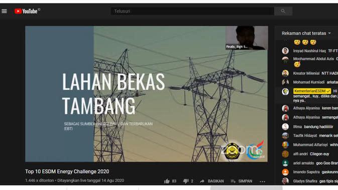 Energy Challenge 2020.