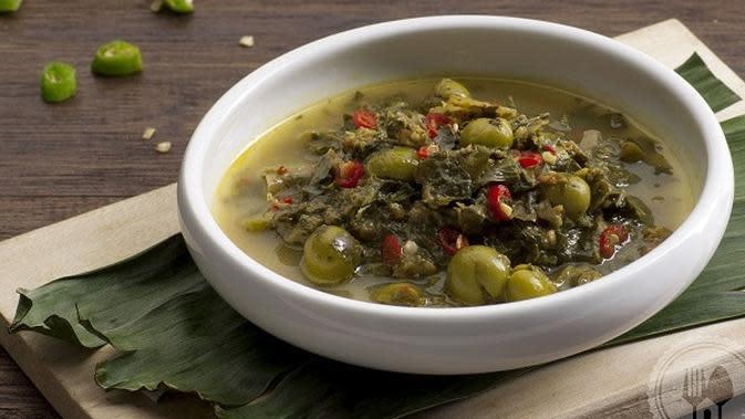 ilustrasi resep gulai daun ubi/resepmakanan.id