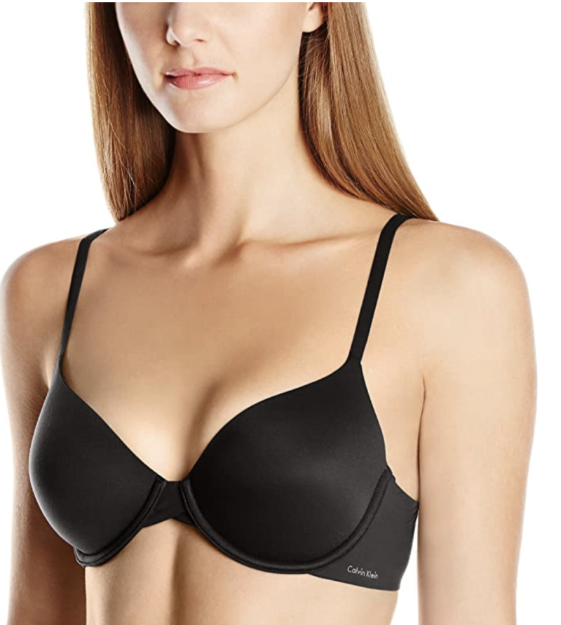 Calvin Klein women's perfectly fit lightly lined memory touch T-shirt bra. (PHOTO: Amazon)