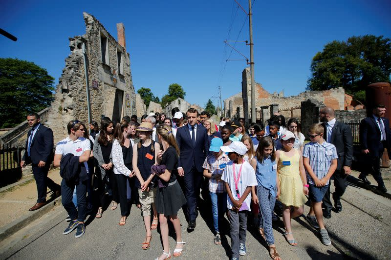 French government condemns vandalism at site of Nazi massacre