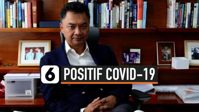 DINO PATTI DJALAL POSITIF COVID-19