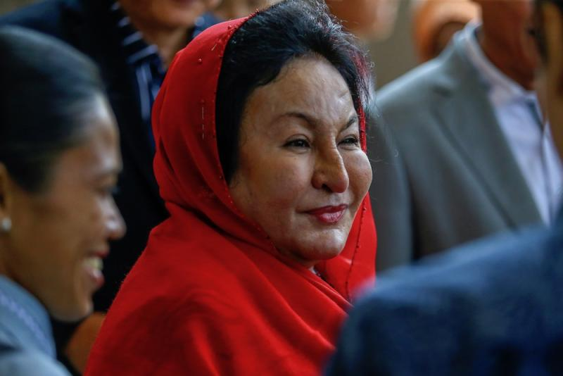 By coincidence, today is Rosmah's birthday. — Picture by Hari Anggara