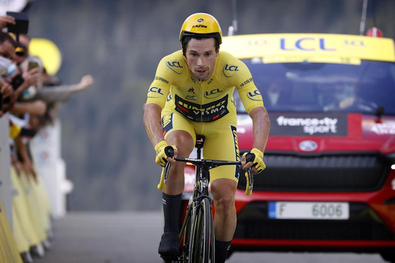Tour de France 2020 - 107th Edition - 20th stage Lure - La Planche des Belles Filles 36.2 km - 19/09/2020 - Primoz Roglic (SLO - Team Jumbo - Visma) - photo POOL/BettiniPhoto©2020