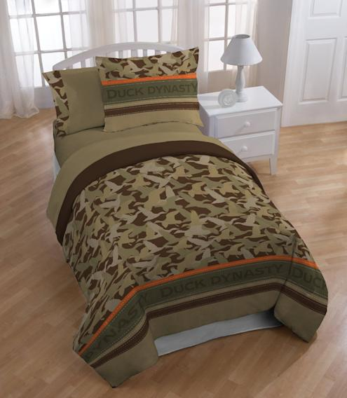 """Duck Dynasty"" Merchandise: Bedding Sheet Set"