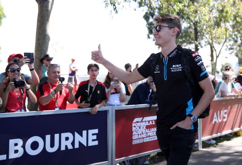 Russell will start F1 season as a virtual winner