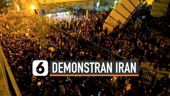 VIDEO: Gedung Putih Dukung Demonstran Iran