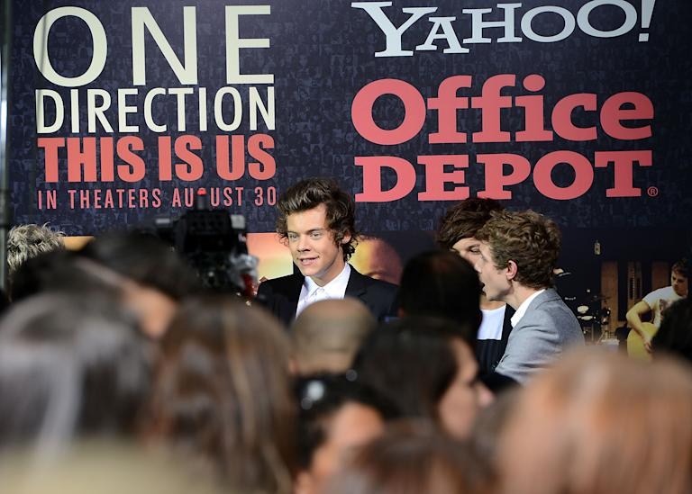 """""""One Direction: This Is Us"""" New York Premiere - Red Carpet"""