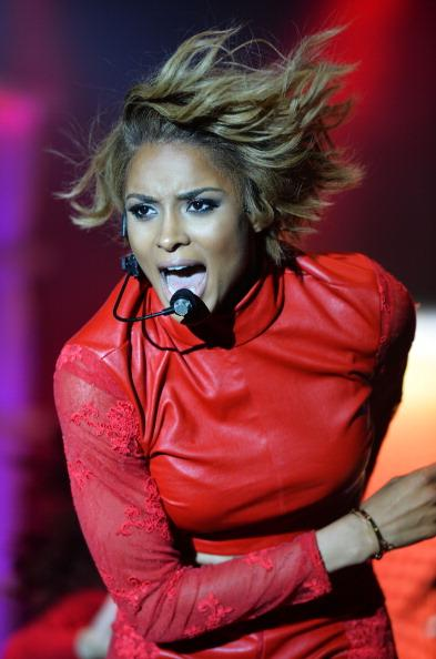 Ciara Gets Served Onstage and Tosses It Back