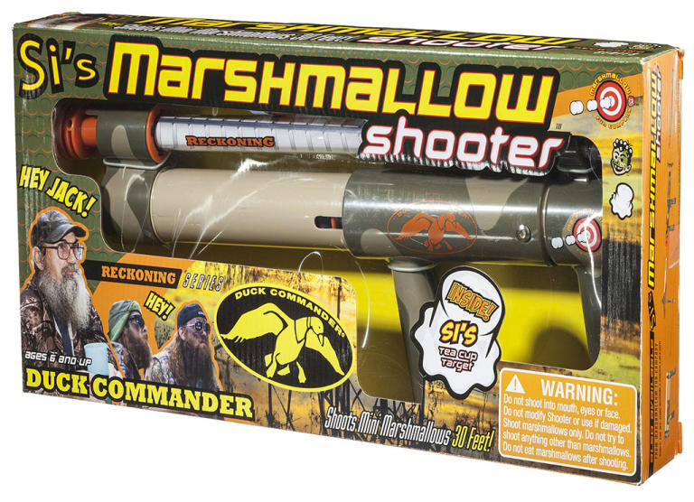 """Duck Dynasty"" Merchandise: Si's Marshmallow Shooter"