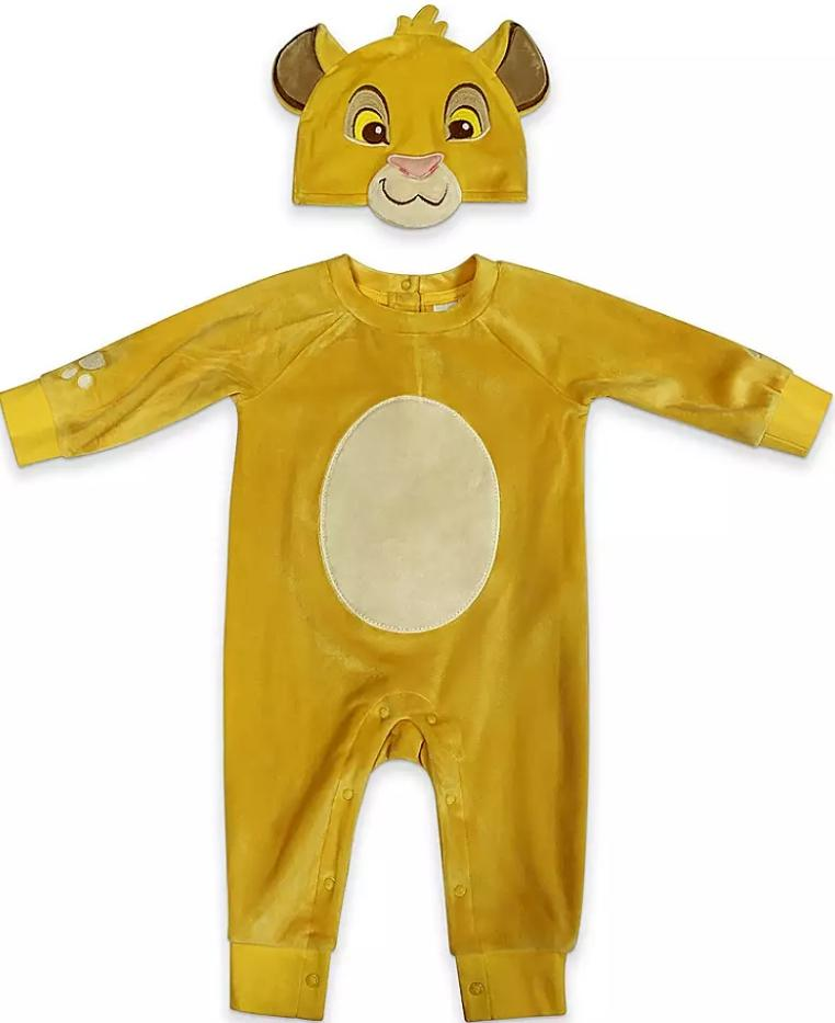 Simba Costume Romper for Baby (Photo via ShopDisney.com)