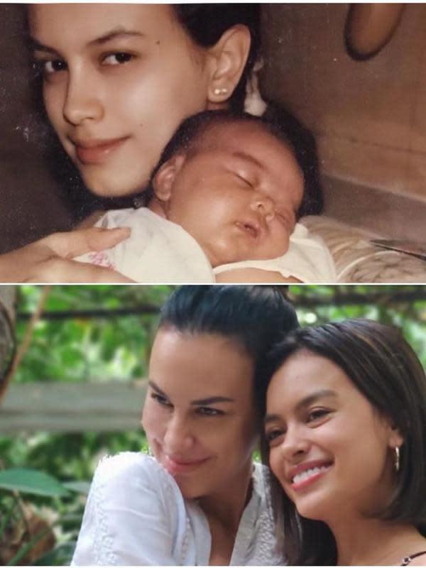 Setelah itu, tahun 2007 Eva main sinetron Juwita Jadi Putri dan Sentuh Hatiku. Kemudian, tahun 2008, terlibat dalam layar lebar di film Takut: Faces of Fear sebagai Gadis. (Instagram/sophia_latjuba88)