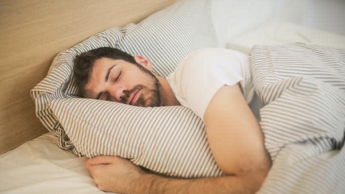 Ilustrasi tidur. (Photo by Andrea Piacquadio on Pexels)