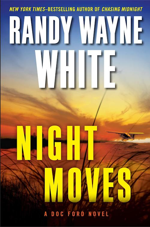 """This book cover image released by Putnam shows """"Night Moves,"""" by Randy Wayne White. (AP Photo/Putnam)"""
