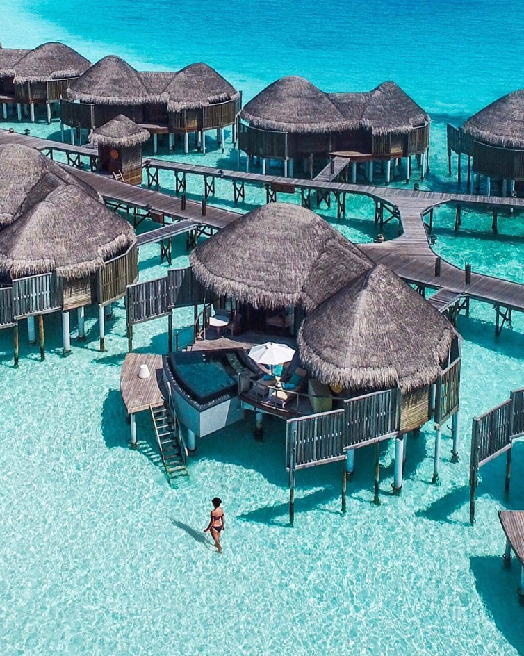 <p>With its crystal clear blue water, it's easy to see why travellers are heading to the Maldives. <br />Not only is it gorgeously sunny and the epitome of #islandlife, you're guaranteed a stunning 'Insta-worthy' photo. <br />Source: Instagram/michutravel </p>