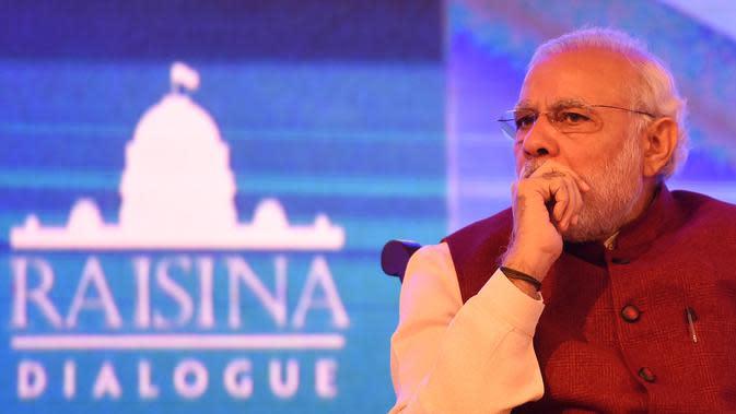 PM Narendra Modi (MONEY SHARMA / AFP)
