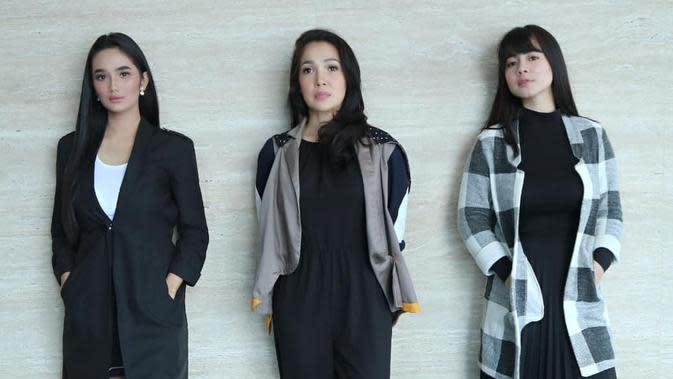 Kebersamaan Felicya Angelista, Mieke Amalia dan Faby Marcelia. (Sumber: Instagram.com/fabymarcelia)