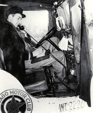 October 9: The first phone call between a moving car and plane was made on this date in 1947