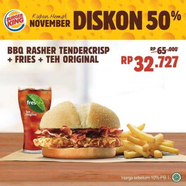 10 Promo Makan Murah Selama November, Ada yang Cuma Satu Rupiah!