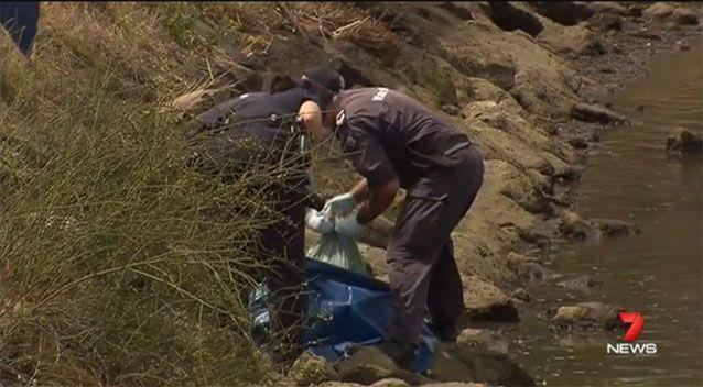 Police recovered his remains after a passer-by spotted an arm near the Maribyrnong River. Picture: 7 News