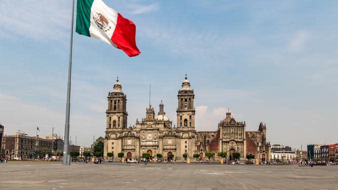 Ilustrasi Meksiko (iStockphoto)